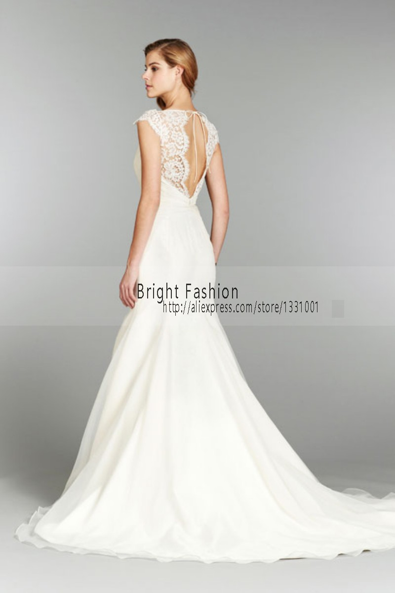 list detail sexy wedding dresses sexy wedding dresses Sexy Berta Wedding Dresses Spaghetti Straps Perals Backless 14