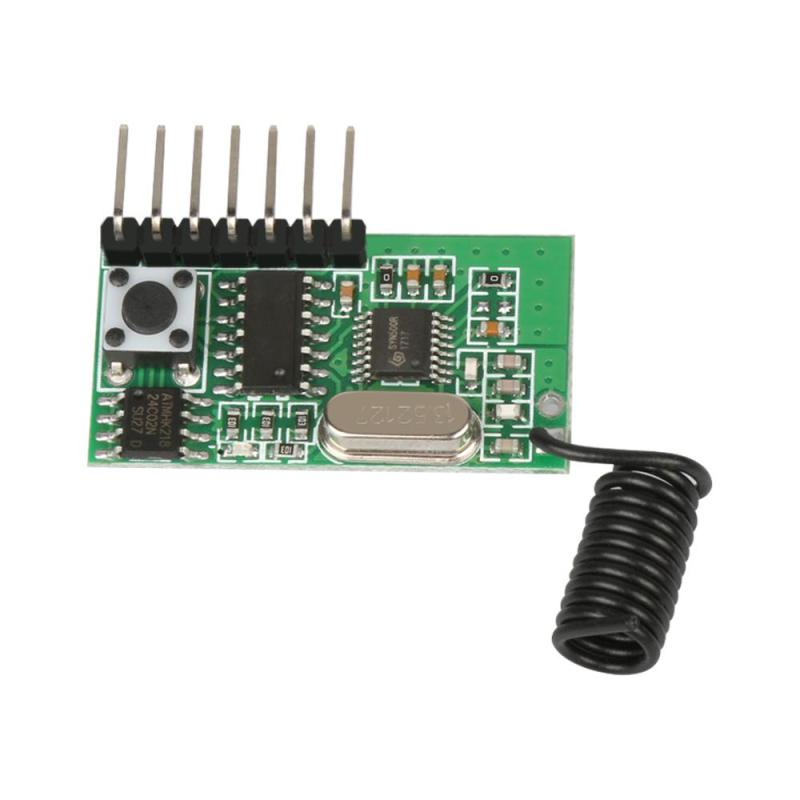 Mini Universal 433 Mhz Receiver Superheterodyne Learning Code Wireless Remote Control Module Low Power For Arduino Uno diy Kits