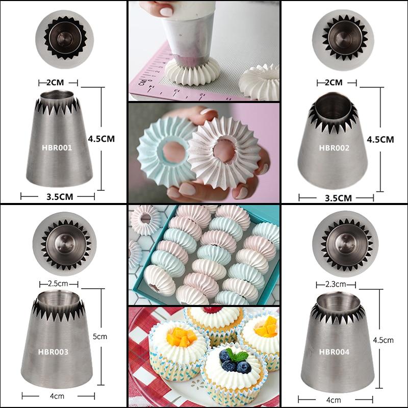 Meringue Cookie Maker Nozzle Tips