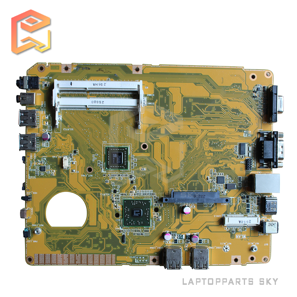 For ASUS desktop motherboard EB1021 mainboard REV:1.2G with CPU fully tested works good and free shipping for msi ms 10371 intel laptop motherboard mainboard fully tested works well