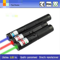 JSHFEI Laser Pointer 303 Green Red Blue Laser Torch With Charger WHOLESALE LAZER