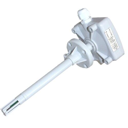 Capteur de température et d'humidité du conduit type de tuyau transmetteur de température et d'humidité tension 0-5 v 0-10 v courant 4-20mA RS485
