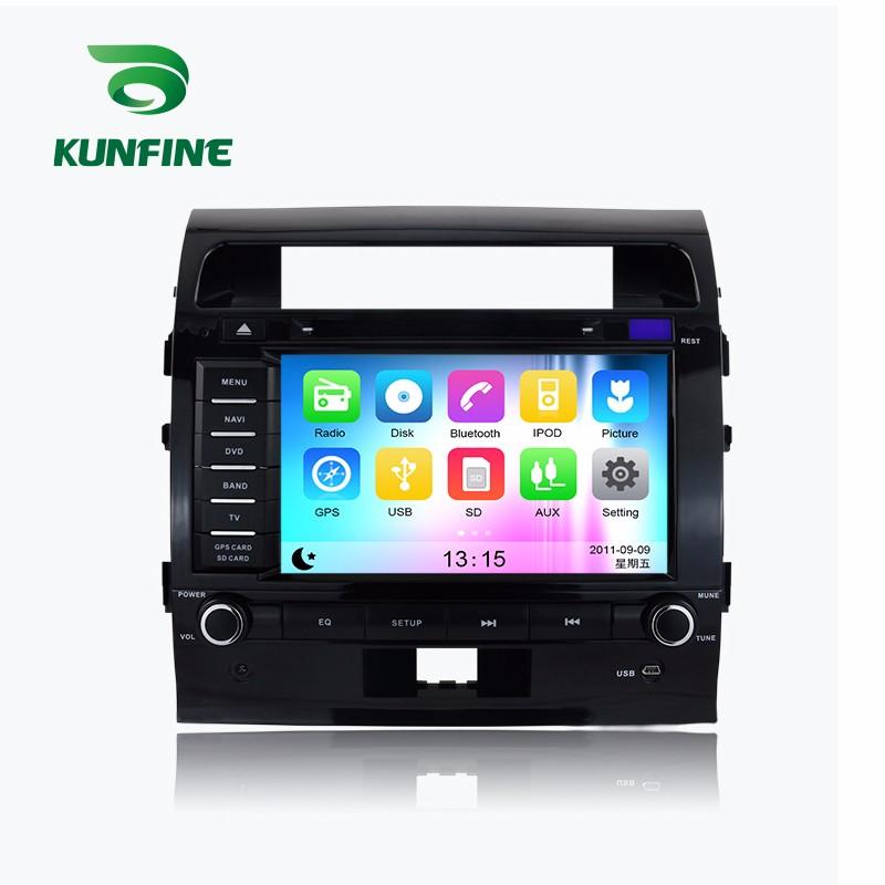 Car Stereo DVD Player GPS Navigation  for Land Cruiser 200 (2008-2012)  Radio MTK 1