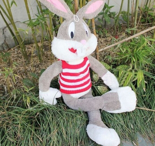 Super! Wholesale 160cm plush toy rascal rabbit large Bugs Bunny girls gifts Christmas gift solar powered 0 64w 10lm 200 led blue light garden christmas party string fairy light blue 20 5m