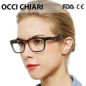 Image 4 - OCCI CHIARI High Quality Acetate Eyewear Prescription Glasses Optical Glasses Clear Eyeglass Woman computer frame W ZELCO