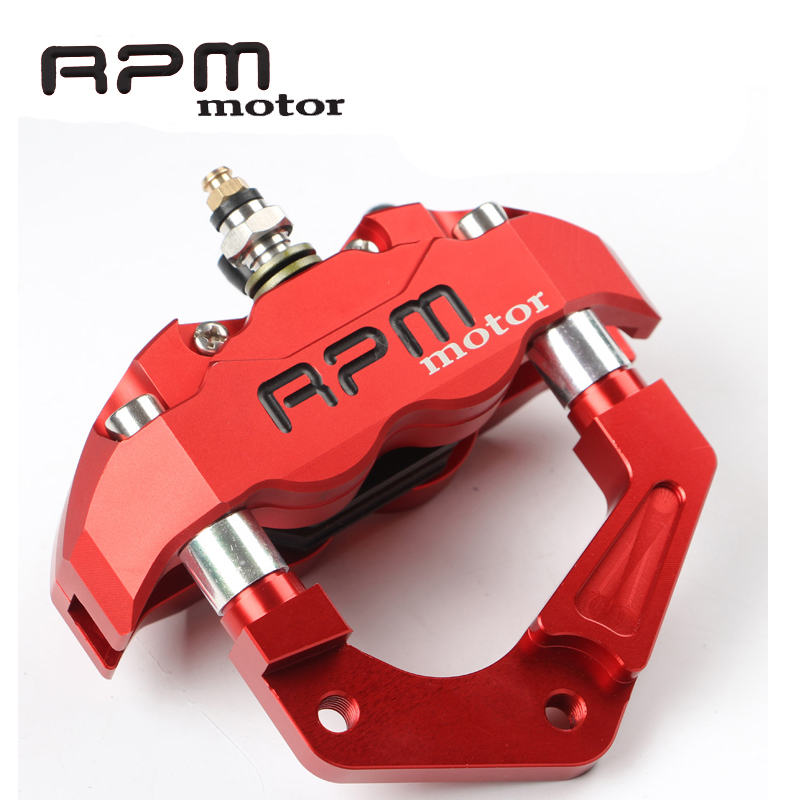 Motorcycle Front Fork Brake Calipers RPM motor For 200 / 220mm Disc Brake Pump Bracket For Yamaha Aerox Nitro JOG 50 rr BWS 100 rpm motor universal motorcycle brake calipers brake pump 200 220mm disc brake pump bracket for yamaha aerox nitro rsz bws zuma