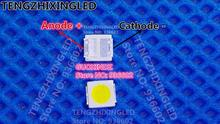 JUFEI Led hintergrundbeleuchtung High Power LED DOPPEL CHIPS 2,3 W 3 V 3030 170LM Kühlen weiß Lcd hintergrundbeleuchtung für TV TV Anwendung