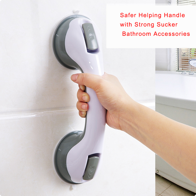 Safer Helping Handle with Strong Sucker Hand Grip Handrail to Keep Balance for Bedroom BathRoom Accessories toilet