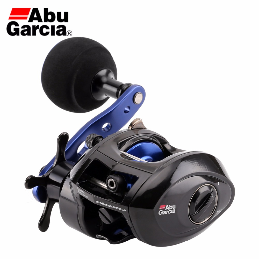 Original Abu Garcia SALTY MAX PLUS Baitcasting Fishing Reel 6.2:1 225g 5.0kg 2+1BB Fresh&Saltwater C6 Carbom Fishing Reel abu garcia catalog pdf