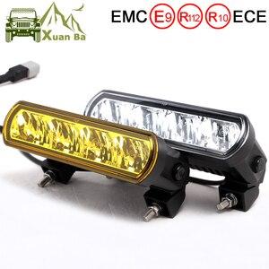 Image 1 - 8 pouces 40W mince barre de Led hors lumière de route pour voiture 12V 24V Wrangler jk ATV SUV camion moto faisceaux dinondation Barra 4x4 feux de route