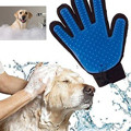 New Gentle Touch Brush Deshedding Glove Tool Pet Grooming Remove Cat Dog Dirt Hair Dander Five Finger Pet Massage removal tools