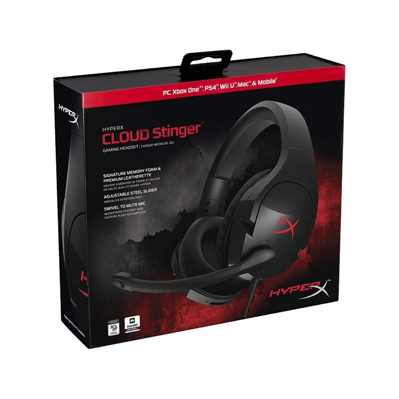Image 5 - Kingston Earphone HyperX Cloud Stinger Auriculare Headphone Steelserie Gaming Headset with Microphone Mic For Computer-in Phone Earphones & Headphones from Consumer Electronics