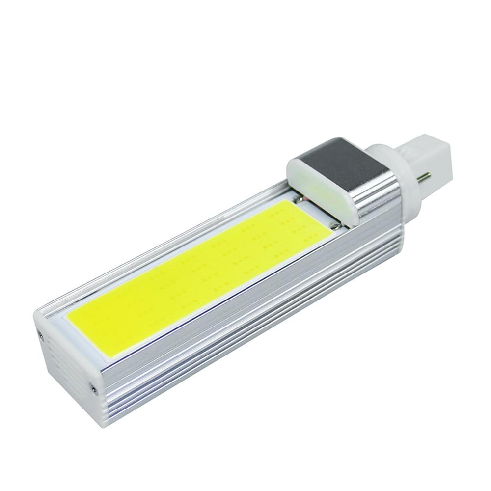 10 Вт 12 Вт 15 Вт светодиодные лампы <font><b>G24</b></font> удара светодиодная лампа свет лампы 180 градусов AC85-265V светодиодный прожектор горизонтальный разъем свет &#8230;