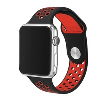 Silicone Sports Band Strap For Apple Watch Nike Run 38 42mm 1 1 Original Rubber Watchband