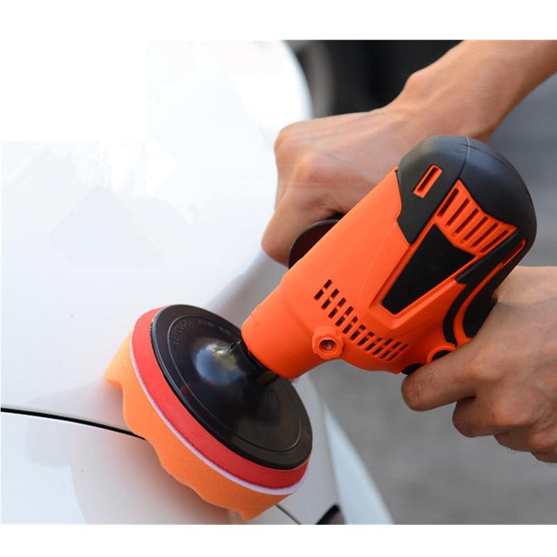 6-Speeds Grinder Polisher Waxing Auto-Car-Polisher-Sanding-Machine Mini Orbit 800W Power-Tools