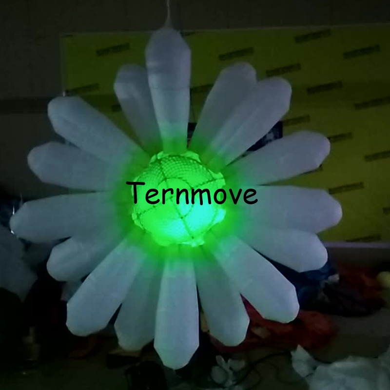 2m diameter lights inflatable flower/wedding party events advertising inflatable flower with LED lights,stage decoration flower2m diameter lights inflatable flower/wedding party events advertising inflatable flower with LED lights,stage decoration flower