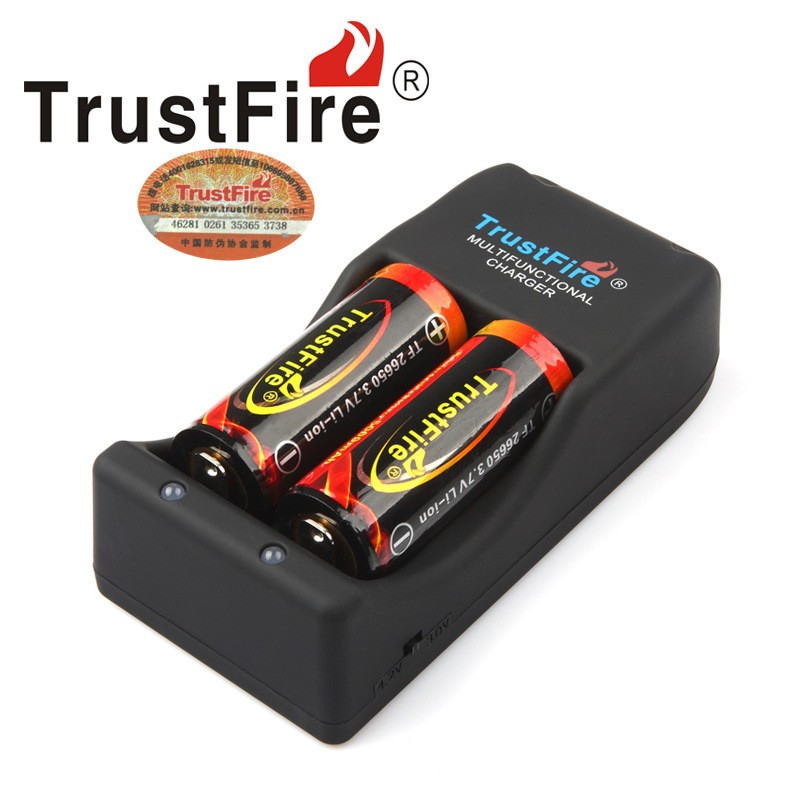 Multifunctional TrustFire TR-006 Charger for 18650 14500 26650 Li-ion Batteries
