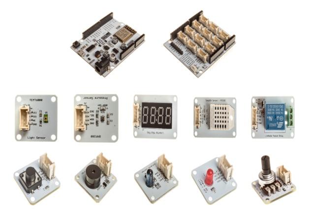Rapide Bateau Libre Pour LinkNode D1 ESP8266 Base Bouclier Module Suite Capteur kit Support pour arduino-IDE pour la Programmation