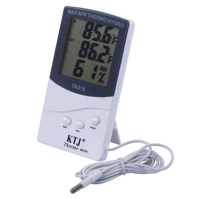 outdoor wall thermometer best room thermometer Internal and external ...
