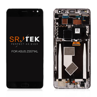 SRJTEK 5.7'' For ASUS ZS571KL LCD Display For Zenfone AR Screen LCD Display Assembly With Frame Replacement parts 1440*2560