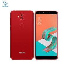 Küresel ASUS ZenFone 5Q ZC600KL X017DA 4 GB 64 GB NFC Yüz Tanıma ZenFone 5 lite 4 Kamera 6.0 inç ekran 18:9 Cep Telefonu