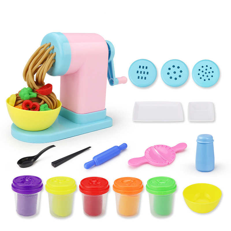 fe38f478c Kids DIY Polymer Plasticine Set Modeling Clay With Tools Toys Girls  Colorful Playdough Slime Educational Toy