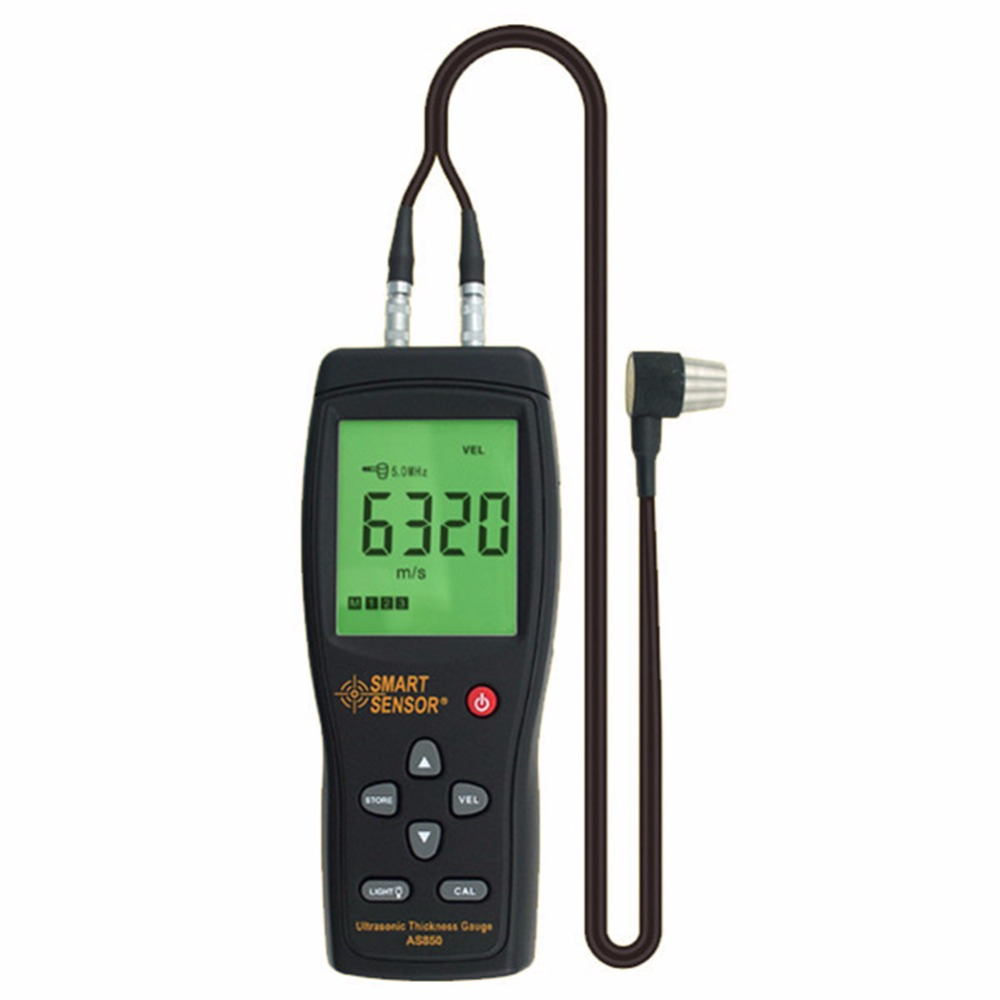 Smart Sensor AS850 Smart Sensor Handheld Steel Aluminium Plate Ultrasonic Thickness Gauge