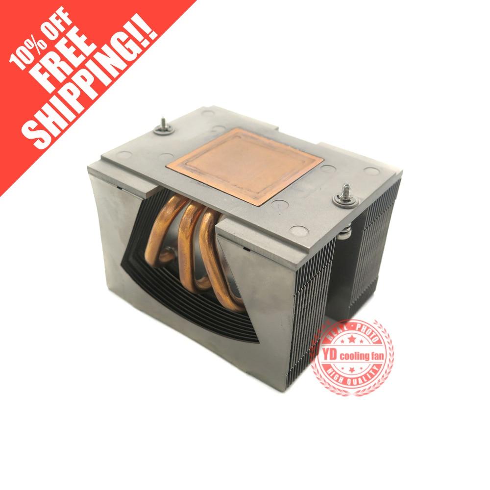 FOR HP DL180G6 2U server CPU heatsink 507247-001 490448-001 for hp server dl360p g8 cpu heatsink 654757 001 667880 001