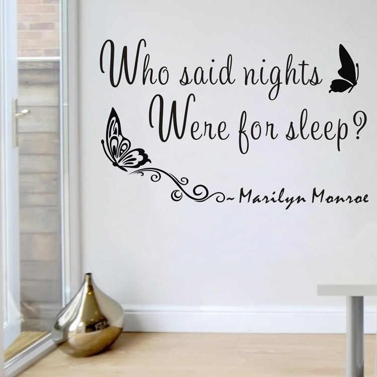 5 стилей Мэрилин Монро настенные наклейки с цитатами съемный домашний декор из винила Мэрилин Монро Наклейки