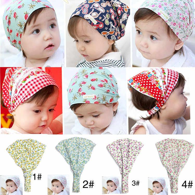 夏秋赤ん坊の帽子の少女少年キャップ子供帽子幼児キッズ帽子スカーフ子供のための 0 のための 3 歳ベビー新生児