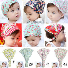 Summer Autumn Baby Hat Girl Boy Cap Children Hats Toddler Kids Hat Scarf good gift for kids for 0-3 Years Old baby NEW born(China)