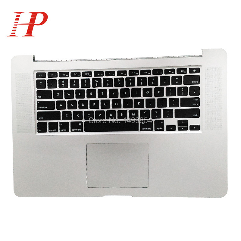 Original 2012 Early 2013 Year For Apple Macbook Pro 15'' Retina A1398 Palm Rest Topcase With Keyboard And Touchpad US/UK Version