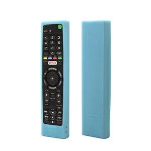 Image 4 - SIKAI מקרה סיליקון מקרה עבור SONY קול שלט רחוק RMF TX200 עבור Sony OLED חכם טלוויזיה מרחוק מקרה מגן מקרה עבור מרחוק