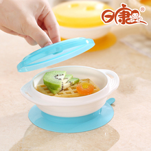 Sucker Bowl Suction Wall Childrens Dishes Baby Food Feeding For Children Plate Dish Kids Child