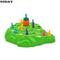 Funny Bunny Rabbit Competitive Game Toy Rabbit Cross Country Race Parent Child Interaction Desktop Game Adventure