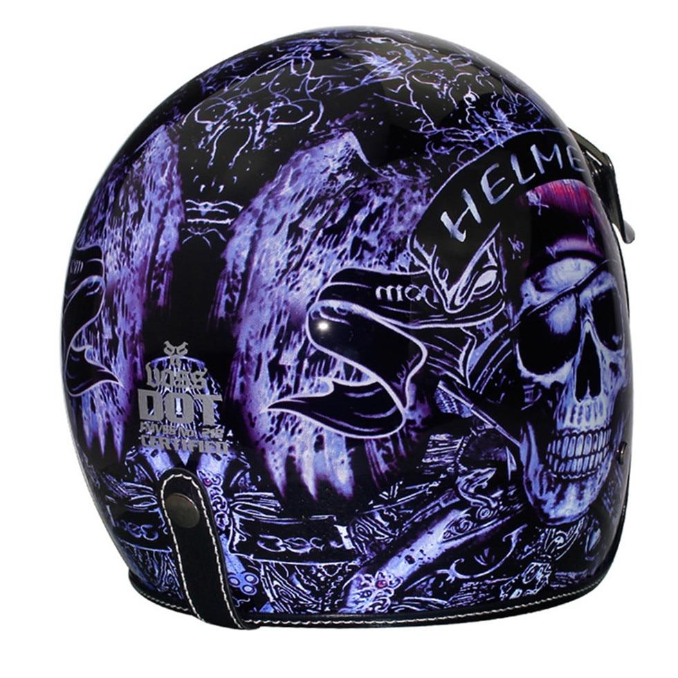 HOT 3/4 retro vintage helmet open helmets cascos capacetes helmet motorcycle helmets shields can add bubble visor|Helmets| |  - title=