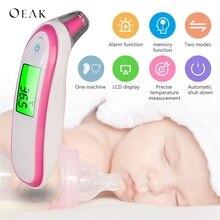 Oeak, медицинский инфракрасный термометр для ушей, для взрослых и детей, измерение температуры тела, высокая точность, забота о здоровье семьи
