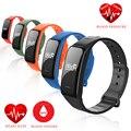 Banda de Pulsera inteligente M8 Del Ritmo Cardíaco Reloj Monitor de La Presión Arterial de Oxígeno Actividad Deportiva Bluetooth IP67 Impermeable Para iOS Android