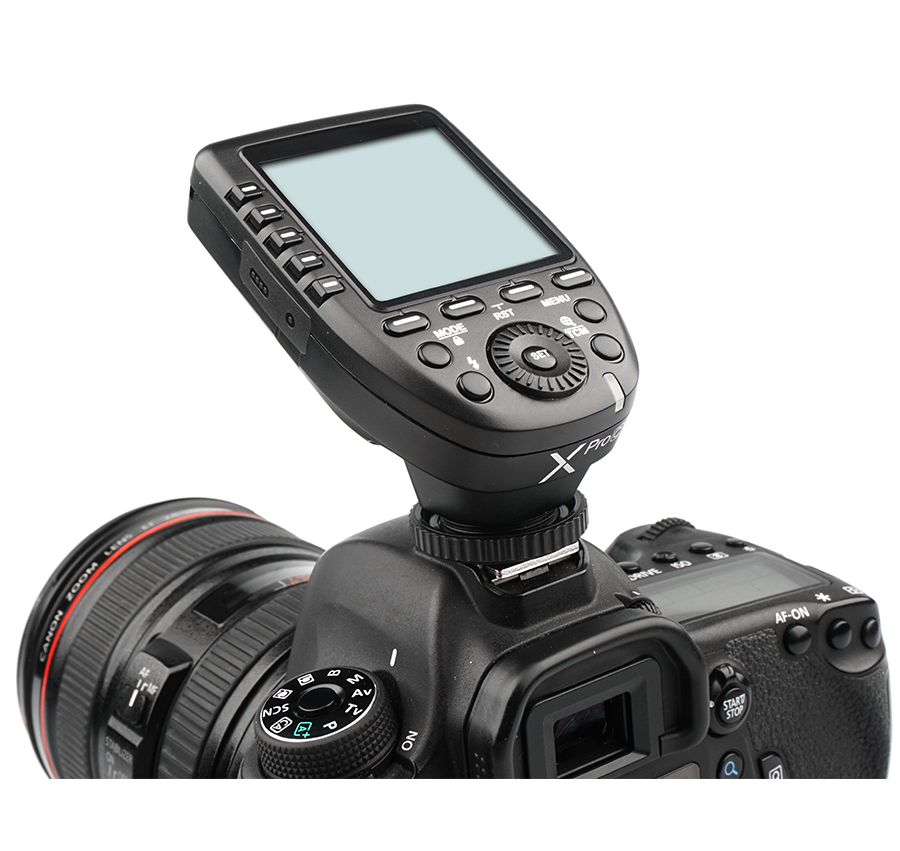 Godox Xpro N i TTL II 2 4G X System Wireless Control Remote Trigger with 3 X1R N Controller Receiver Compatble for Nikon Flash in Shutter Release from Consumer Electronics