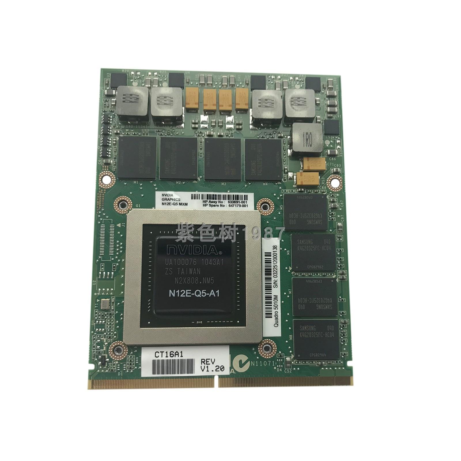 New Quadro 5010M 689282 633691-001 647179-001 XY703AV Graphics Warranty 3 Years