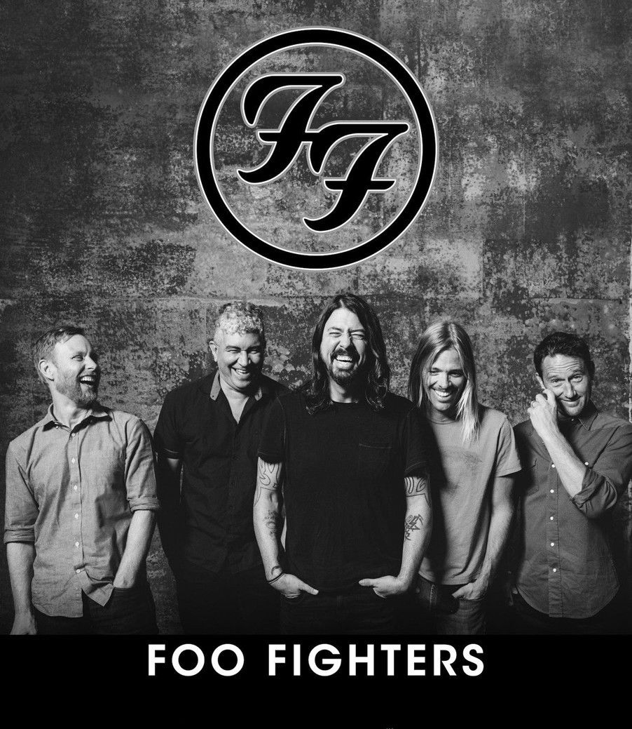 Custom Poster Foo Fighters Music Rock band 01 Wall Sticker Home Decor Silk Art Poster image