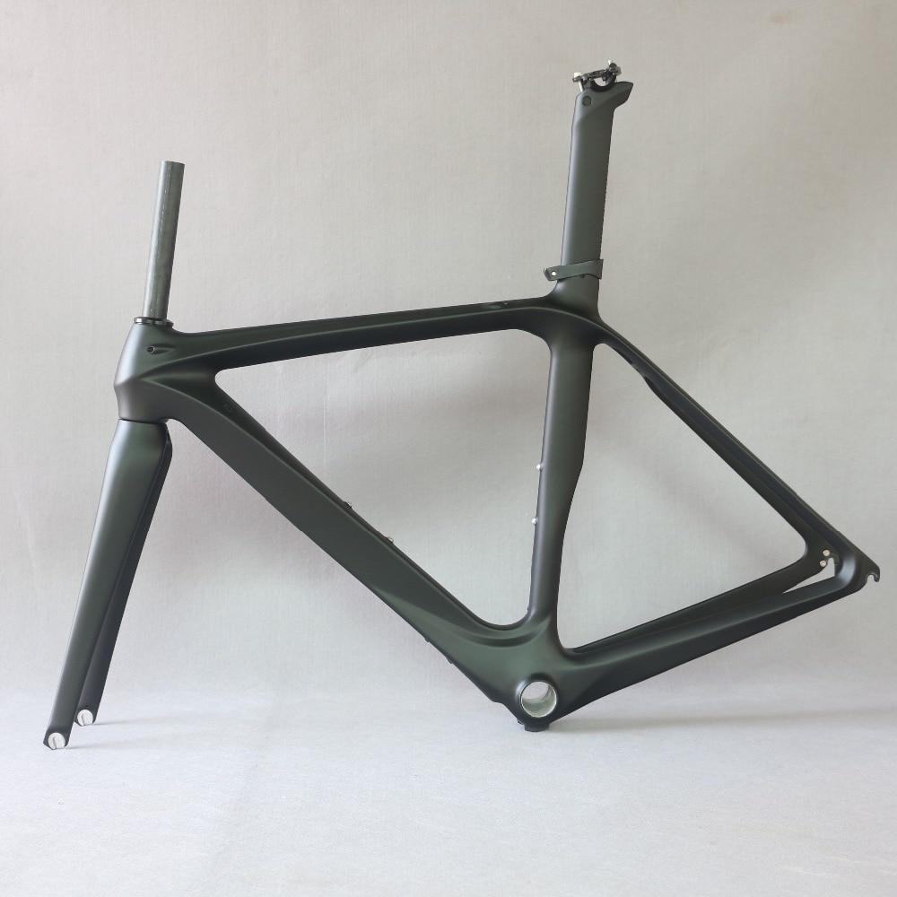 Factory Clearance Frameset Carbon Fiber Road Bike Frame FM288 , SIZE 61CM Carbon FRAME , 2019 OEM Famous Brand Clearance