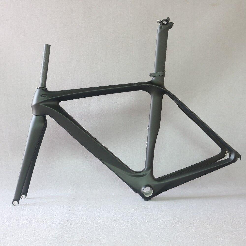 Liquidation d'usine Cadres en fiber de carbone vélo de route cadre FM288, TAILLE 61 cm carbone CADRE, 2019 OEM célèbre marque liquidation