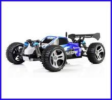Jjrc a959 2.4g de radio control remoto rc toy car kid modelo escala 1:18 nueva prueba de golpes de goma ruedas de alta velocidad buggy off-road
