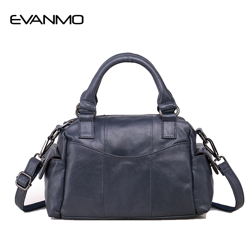 New Arrival Women Tote Bag Women Genuine Leather Handbags Fashion Brand Ladies Shoulder Bag With Outside Pocket1111 Sale