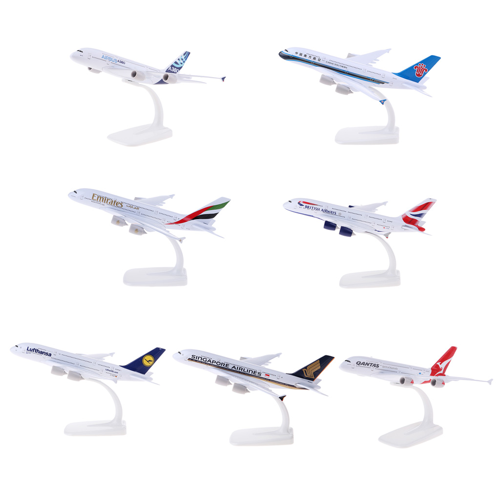 18cm Airlines Aircraft Alloy Aircraft Model Airbus Crafts Emirates