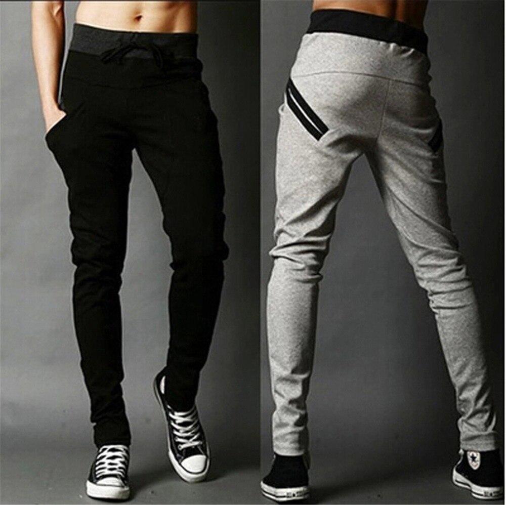 e1a68fa2 Mens Joggers New Fashion:Casual Harem Sweatpants Pencil Pants Trousers  Sarouel Men Tracksuit Bottoms For Track Pants