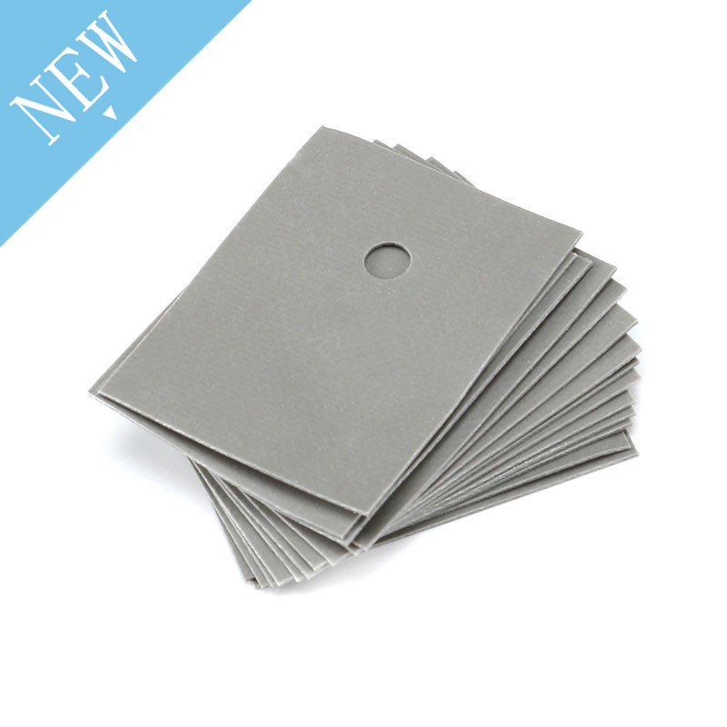 100pcs TO-3P Insulation Film TO-247 Insulation Gasket Silicone Sheet 20*25*0.3mm