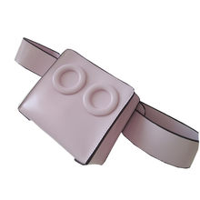 Caker marca 2018 PU de las mujeres de cuero bolso de la cintura en relieve  gafas 296b357906b0