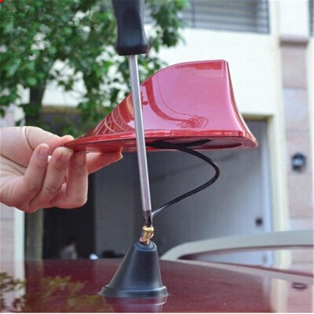 Car Styling Signal Antenna cover Modify case For Nissan Geniss Juke Almera Primera pathfinder Sentra Versa Altima Sentra